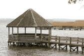 Pier at North Carolina Outer Banks — Stockfoto