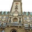 Town Hall Tower of Hamburg, Germany — Stock Photo