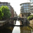 Stock Photo: Hamburgs canal view