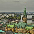 Hamburgs Alster — Stock Photo