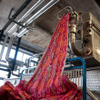 Industry: plant for textile printing — Stock Photo #9616454