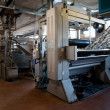 Industry: plant for textile printing — Stock Photo #9616477