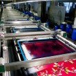 Stock Photo: Industry: plant for textile printing