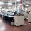 Large centralized photo developing labs — Stock Photo