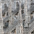 Stock Photo: Milan Cathedral (Dome, Duomo)