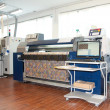Stock Photo: Digital textile printing