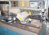 Department R&D - Building line e machine for automation — ストック写真