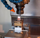 Industry - CNC machines for mold making — Stock Photo