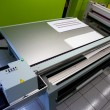 Digital printing - wide format printer — Stock Photo