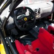 Interior racing car — Stock Photo