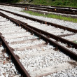 Rail - Train tracks — Stock Photo