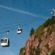 Aerial tramway (cable car) - Cermis, Cavalese, Italy — Stock Photo #9938811