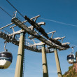 Aerial tramway (cable car) - Cermis, Cavalese, Italy — Stock Photo