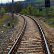 Stock Photo: Rail - Train tracks