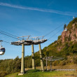 Aerial tramway (cable car) - Cermis, Cavalese, Italy — Stock Photo #9938892