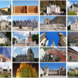 Stock Photo: Photo collage - Castles in Europe