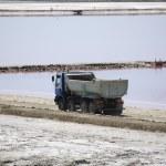 Saltworks: Saline-de-Giraud, Camargue — Stock Photo