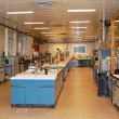 Stock Photo: Laboratory for chemical tests
