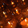 Candles in a church — Stockfoto