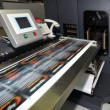 Digital printer for labels - Stock Photo