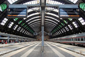 Milan Central railway station — Stock Photo