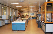Laboratory for chemical tests — Stock Photo