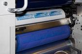 Impressão offset impressão de etiquetas — Fotografia Stock