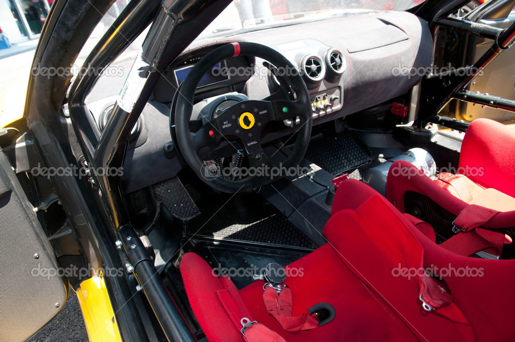 interior racing car stock photo 9938594. Black Bedroom Furniture Sets. Home Design Ideas