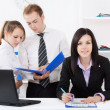 Young business in office — Stock Photo #9907086