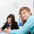 Young business in office — Stock Photo #9907194