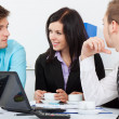 Young business in office — Stock Photo #9907226