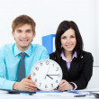 Young business in office — Stock Photo #9907235