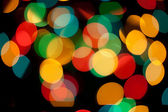 Background multi-colored circles — Stock Photo