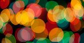 Background multi-colored circles — Stock Photo