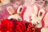 Wedding rings. — Stock Photo