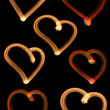 Set Hearts — Stock Photo
