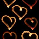Set Hearts — Stock Photo