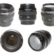 Set lenses, isolated. — Stock Photo