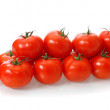 Tomatoes, isolated. — Stock Photo