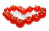 Hart van tomaten — Stockfoto