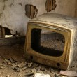 Royalty-Free Stock Photo: Broken Television