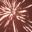 Firework pyrotechnics - Stock Photo