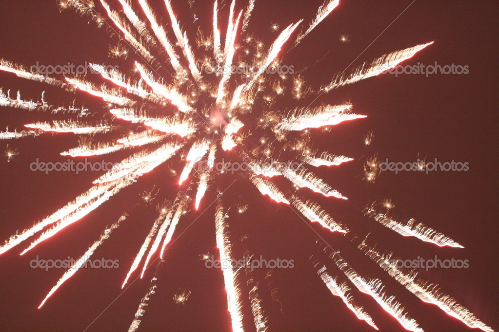 firework pyrotechnics — Stock Photo #8362446