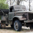Old Soviet military truck — Stock Photo #9471736