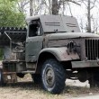 Old Soviet military truck — Stock Photo