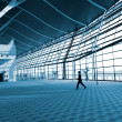 Royalty-Free Stock Photo: Interior of the airport