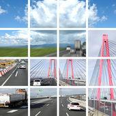 Transportation of highroad — Stockfoto