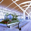 Stock Photo: Interior of airport