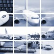 Air transport — Stock Photo