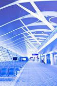 Interior do aeroporto — Foto Stock